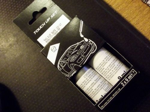 Paint touch up kit, genuine Mazda, 45P Sonic Silver